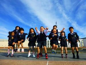 高津区の保育園Global Education Garden(グローバルエジュケーションガーデン)の園児たち